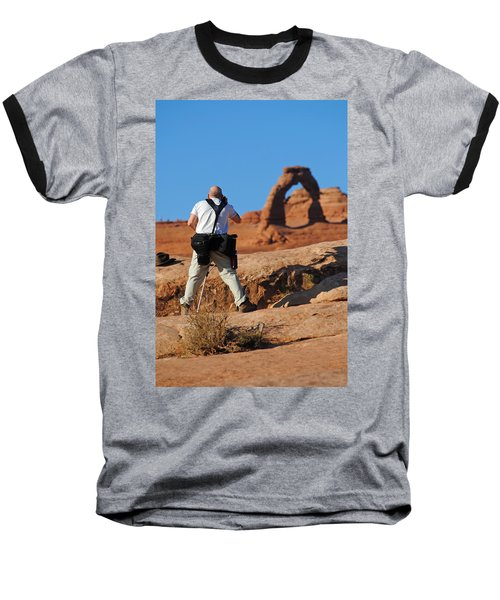 Baseball T-Shirt featuring the photograph Arches Np 27 by Jeff Brunton