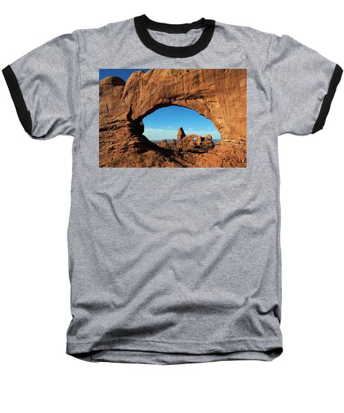 Arches National Park 61 Baseball T-Shirt