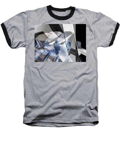 Architectural Abstract Baseball T-Shirt