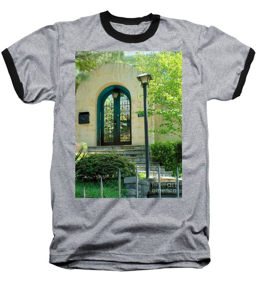 Archway In Swan Lake Baseball T-Shirt
