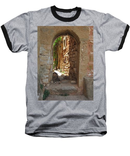 Baseball T-Shirt featuring the photograph Archway by Pema Hou