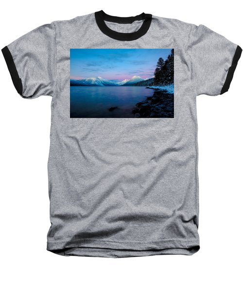 Arctic Slumber Baseball T-Shirt by Aaron Aldrich