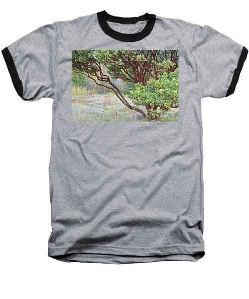 Baseball T-Shirt featuring the photograph Arctostaphylos Hybrid by Kate Brown