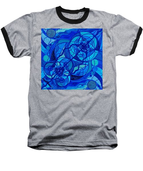 Arcturian Calming Grid Baseball T-Shirt
