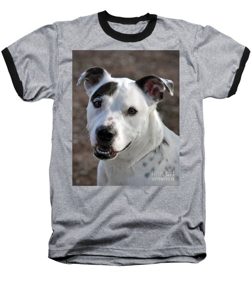 Baseball T-Shirt featuring the photograph Are You Looking At Me? by Savannah Gibbs