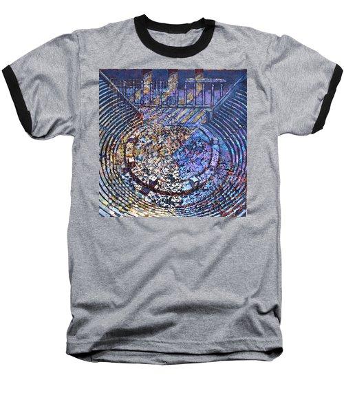 Arena Song Baseball T-Shirt by Mark Jones