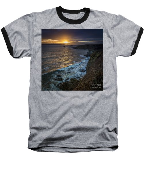 Ares Estuary Mouth Galicia Spain Baseball T-Shirt