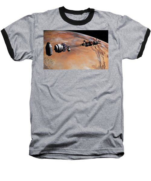 Baseball T-Shirt featuring the digital art Ares1 Release by David Robinson
