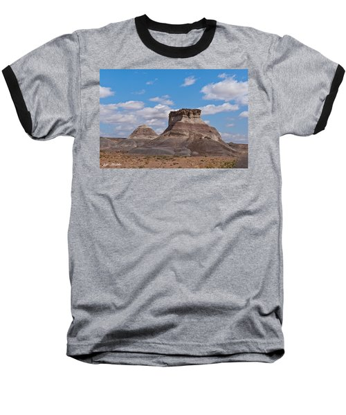 Baseball T-Shirt featuring the photograph Arizona Desert And Mesa by Jeff Goulden