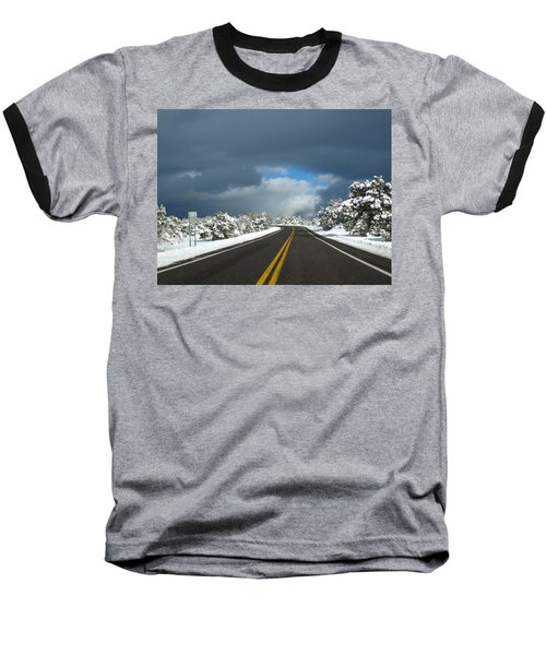 Arizona Snow 1 Baseball T-Shirt