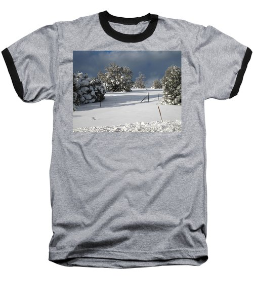 Arizona Snow 3 Baseball T-Shirt