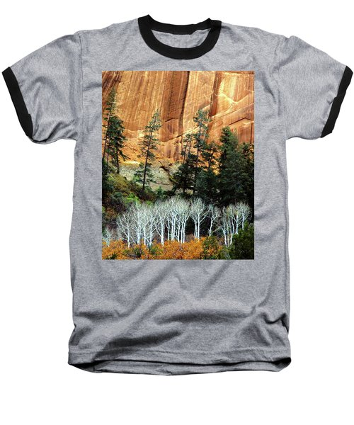 Arizona's Betatkin Aspens Baseball T-Shirt