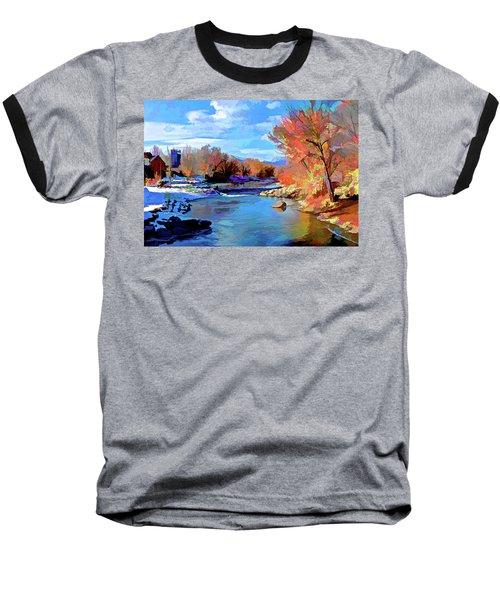 Arkansas River In Salida Co Baseball T-Shirt