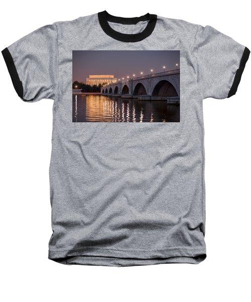 Arlington Memorial Bridge Baseball T-Shirt