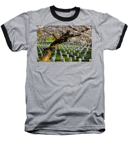 Arlington National Cemetary Baseball T-Shirt