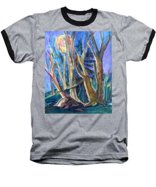 Armageddon Or Twilight Coming Baseball T-Shirt