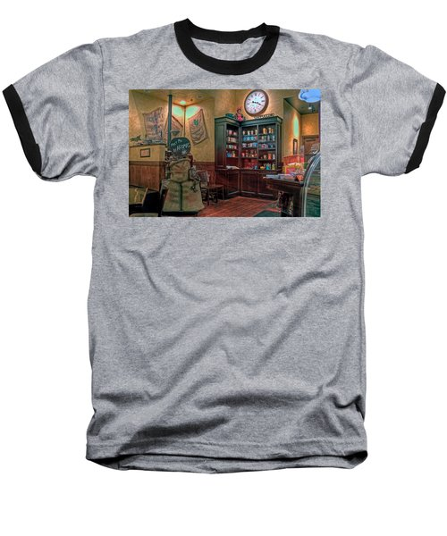 Baseball T-Shirt featuring the photograph Aromas Coffee Shop Newport News Virginia by Jerry Gammon