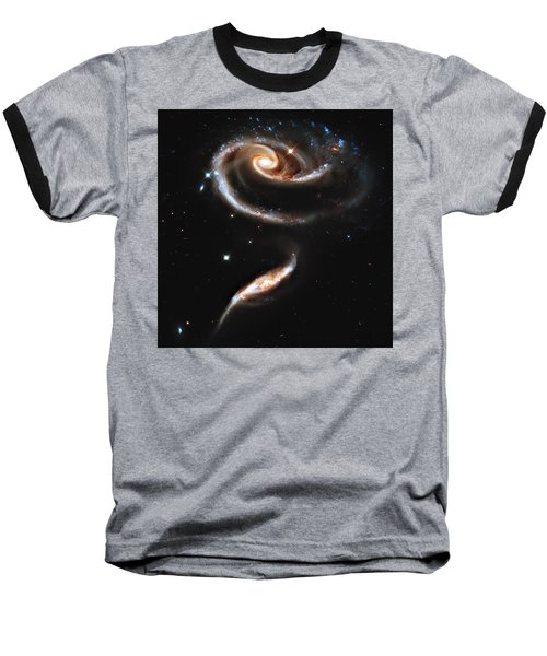 Arp 273 Rose Galaxies Baseball T-Shirt