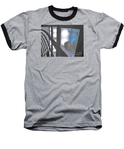 Baseball T-Shirt featuring the photograph Arsenic No Lace by John King
