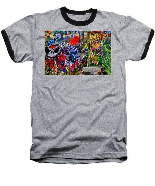 Art Alley Three Baseball T-Shirt