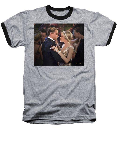 Art Deco Ball  Baseball T-Shirt
