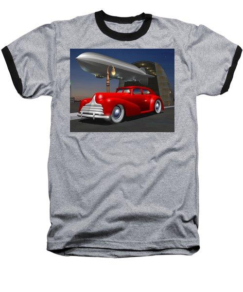 Art Deco Sedan Baseball T-Shirt