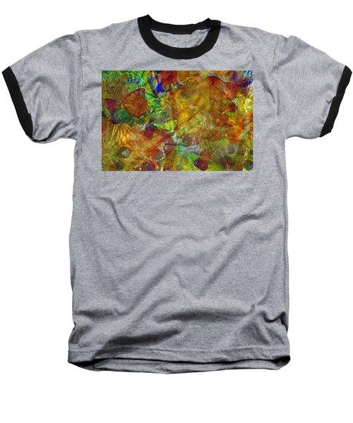 Art Glass Overlay Baseball T-Shirt