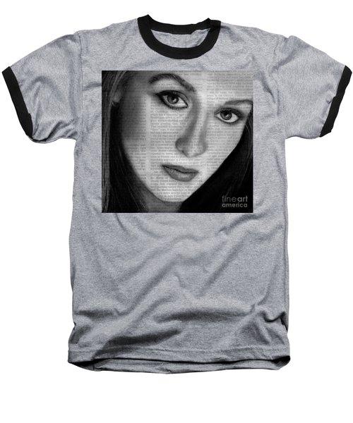 Art In The News 34- Meryl Streep Baseball T-Shirt