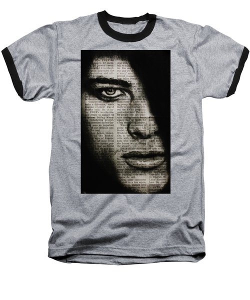 Art In The News 7 Baseball T-Shirt