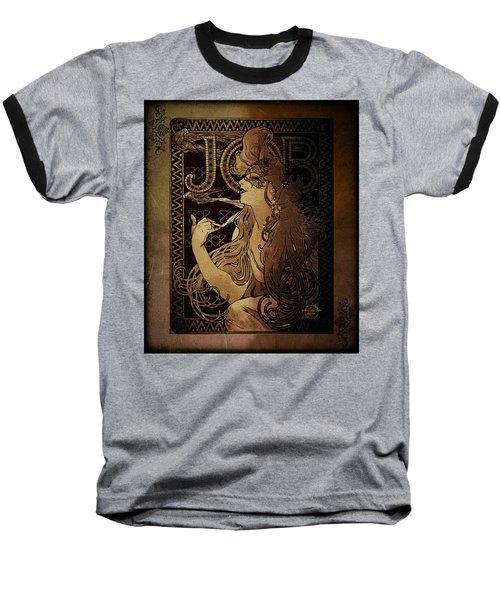 Art Nouveau Job - Masquerade Baseball T-Shirt