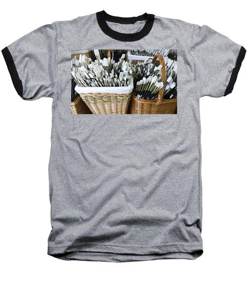 Artist Brushes Baseball T-Shirt