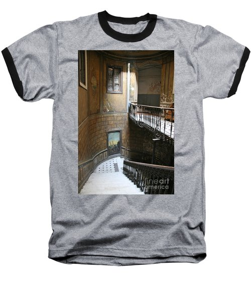 Artistic Staircase In Tbilisi Baseball T-Shirt