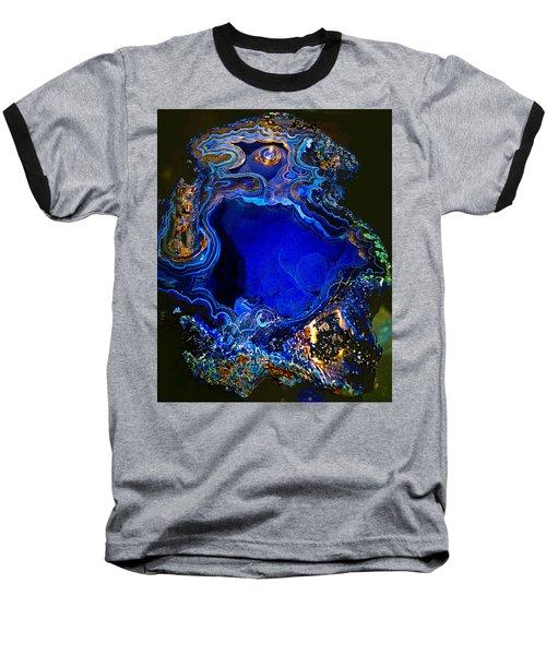 Artists Bisbee Velvet Beauty Azurite Baseball T-Shirt