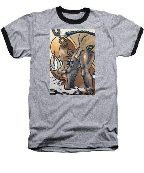 Artists Of Oasis  Baseball T-Shirt by Fania Simon
