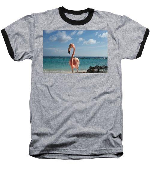 Aruba Hairy Eyeball Baseball T-Shirt