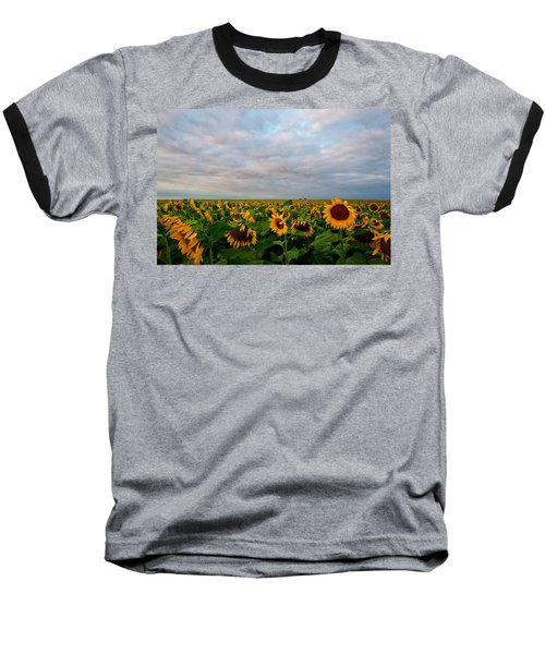Baseball T-Shirt featuring the photograph As Far As The Eye Can See by Ronda Kimbrow