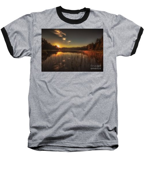 Baseball T-Shirt featuring the photograph As In A Dream by Rose-Maries Pictures
