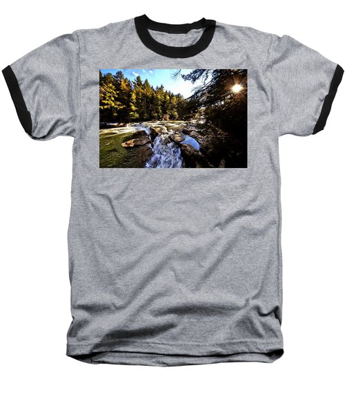 As Lawrence Welk Used To Say-ah Waterfall Waterfall Baseball T-Shirt