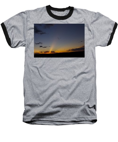 As Night Falls Baseball T-Shirt