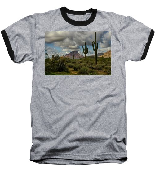 As The Clouds Pass By  Baseball T-Shirt