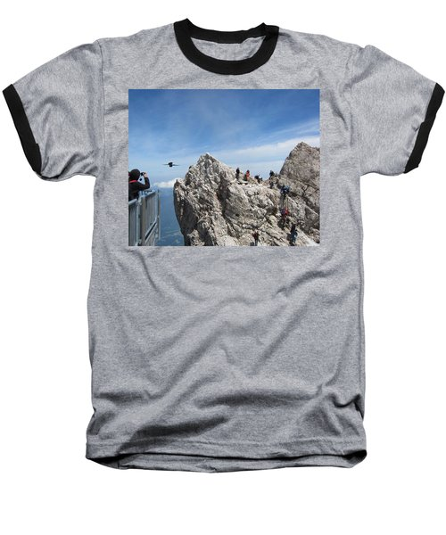 Baseball T-Shirt featuring the photograph As The Crow Flies 1 by Pema Hou