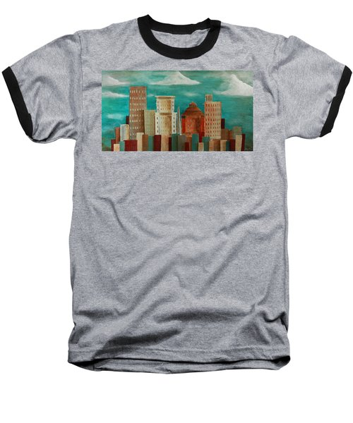Asheville Skyline Baseball T-Shirt