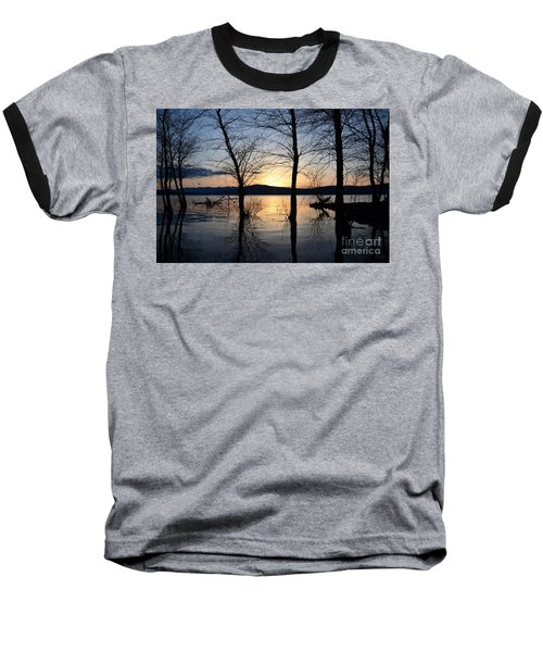 Ashokan Reservoir 43 Baseball T-Shirt