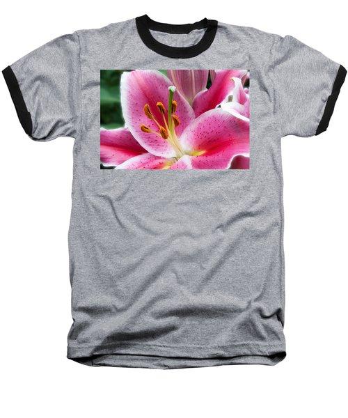 Asian Lily Baseball T-Shirt
