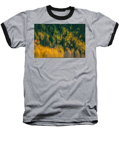 Baseball T-Shirt featuring the photograph Aspen Abstract by Ken Smith