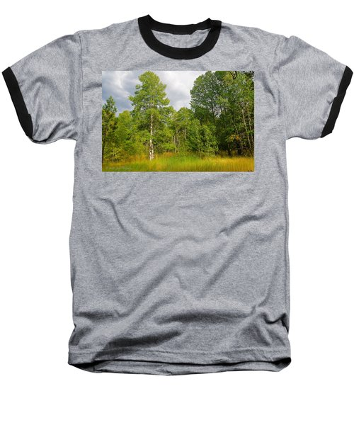 Baseball T-Shirt featuring the photograph Aspen And Others by Jim Thompson