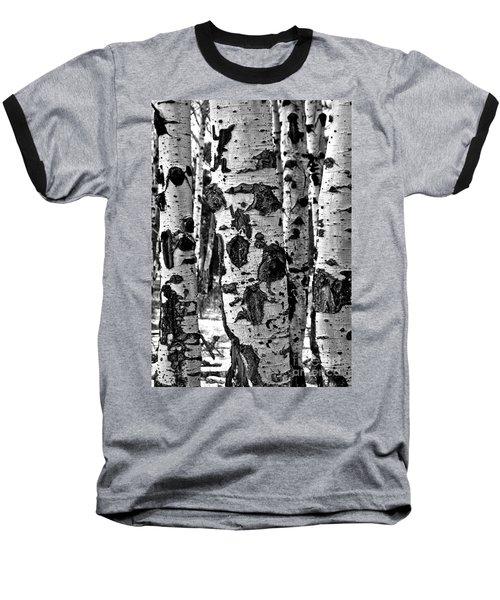 Baseball T-Shirt featuring the photograph Aspen Art by Mae Wertz