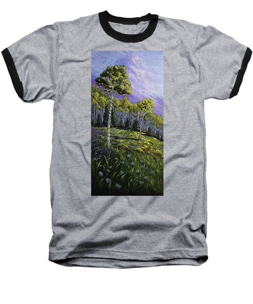 Aspen Blues Baseball T-Shirt