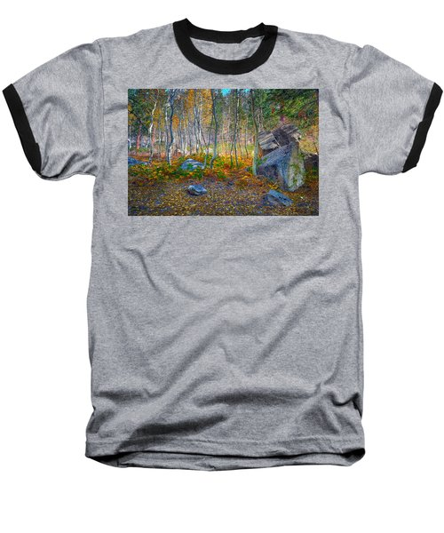 Baseball T-Shirt featuring the photograph Aspen Grove by Jim Thompson