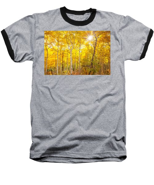 Aspen Morning Baseball T-Shirt